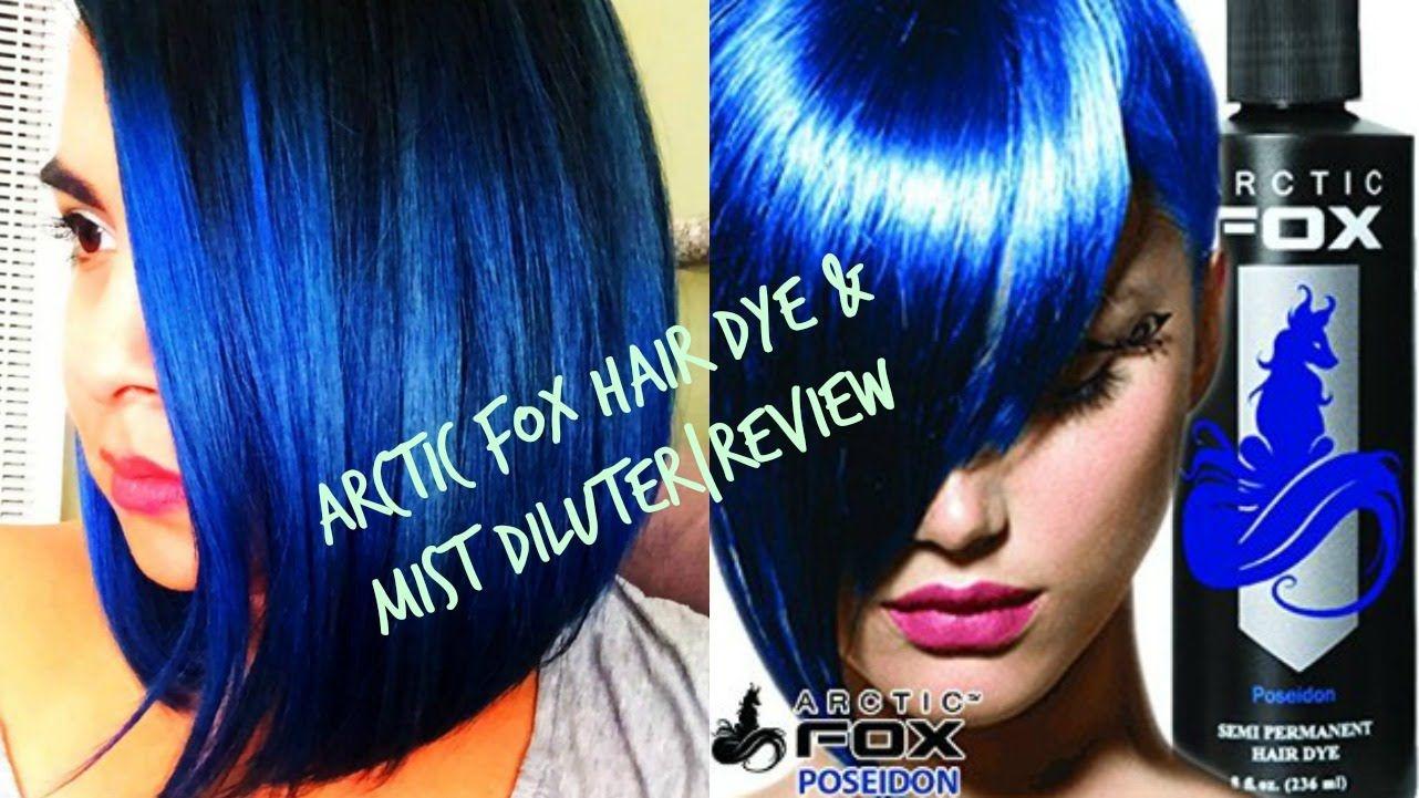 Arctic fox hair dye review poseidon hair dye mist