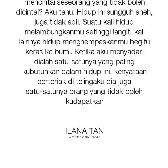 Quotes Ilana Tan 2