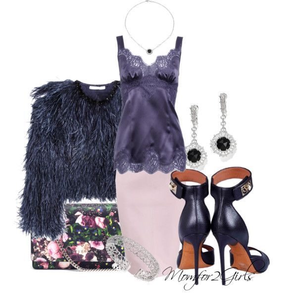 """""""Navy & a Bit of Pink"""" by momfor2girls on Polyvore"""