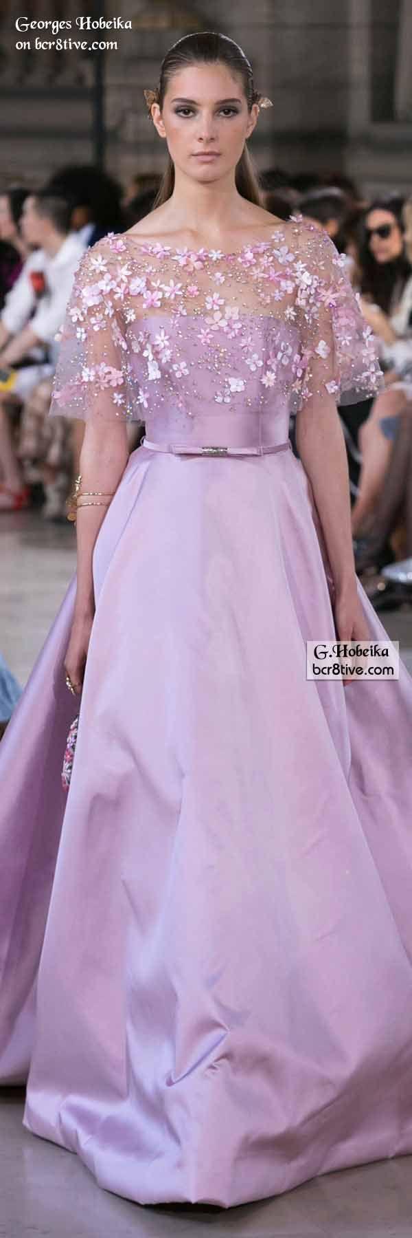 Georges Hobeika Fall 2016 Haute Couture | Vestiditos, Alta costura y ...