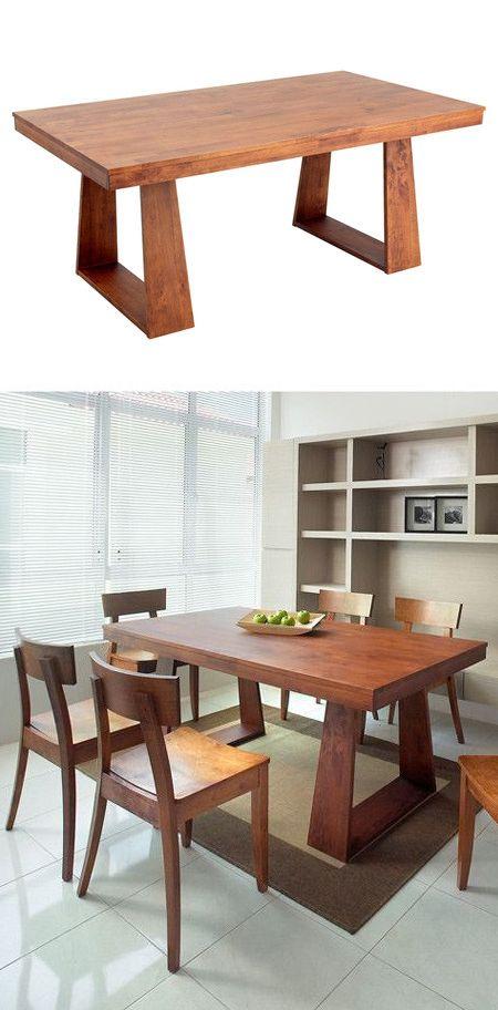 table cuisine 3 Idées pour la maison Pinterest Madera, Sillas - muebles de bambu modernos