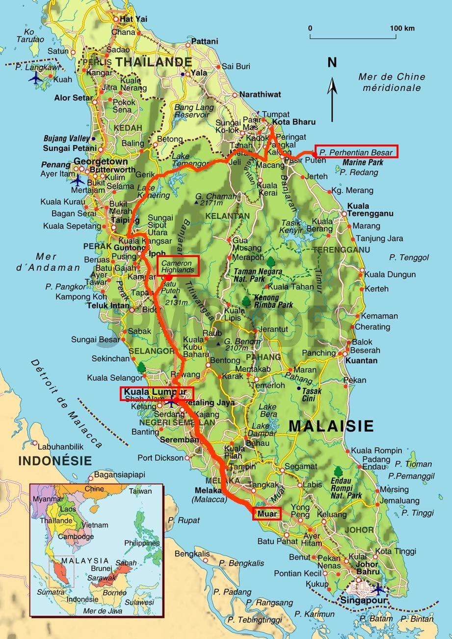 Carte Malaisie Singapour.Carte Malaisie Plus Gewgrafia En 2019 Malaisie Voyage
