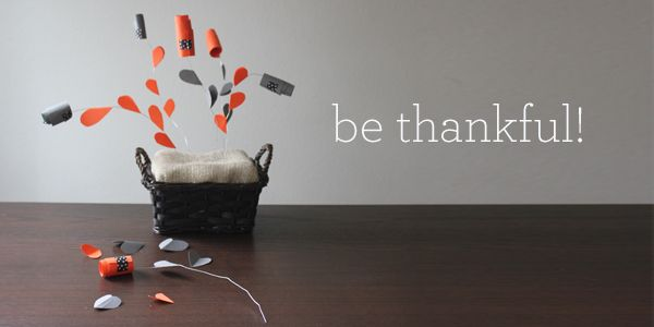 Thanksgiving Day Gratitude Centerpiece Craft for Kids with SECRET MESSAGES