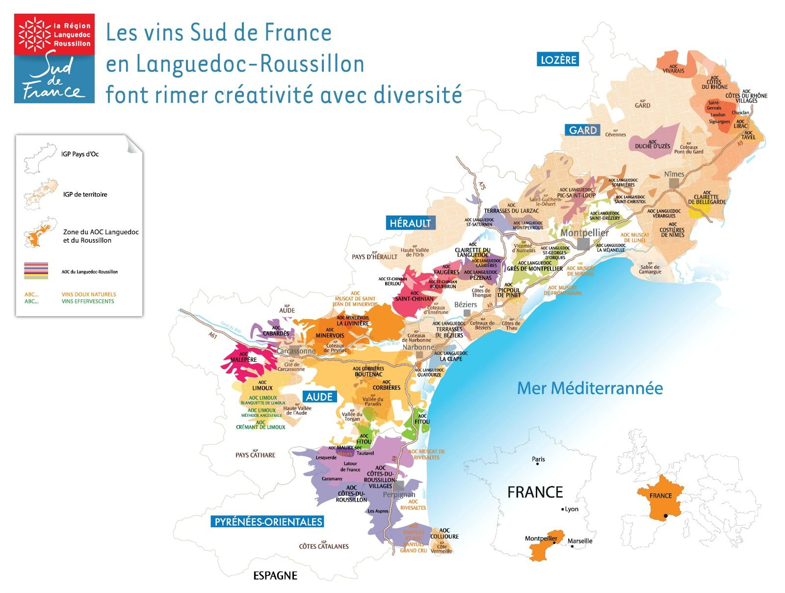 Cartes Vins Sud De France Ok En 2019 Carte Des Vins Vins