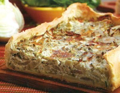 Tarta de hinojos hinojo tartas y tartas de for Cocinar hinojo