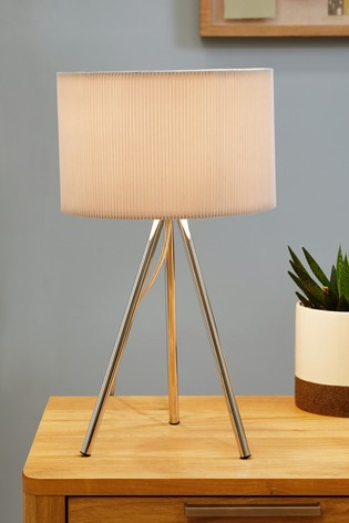 Mila Tripod Table Lamp Tripod Table Lamp Grey Table