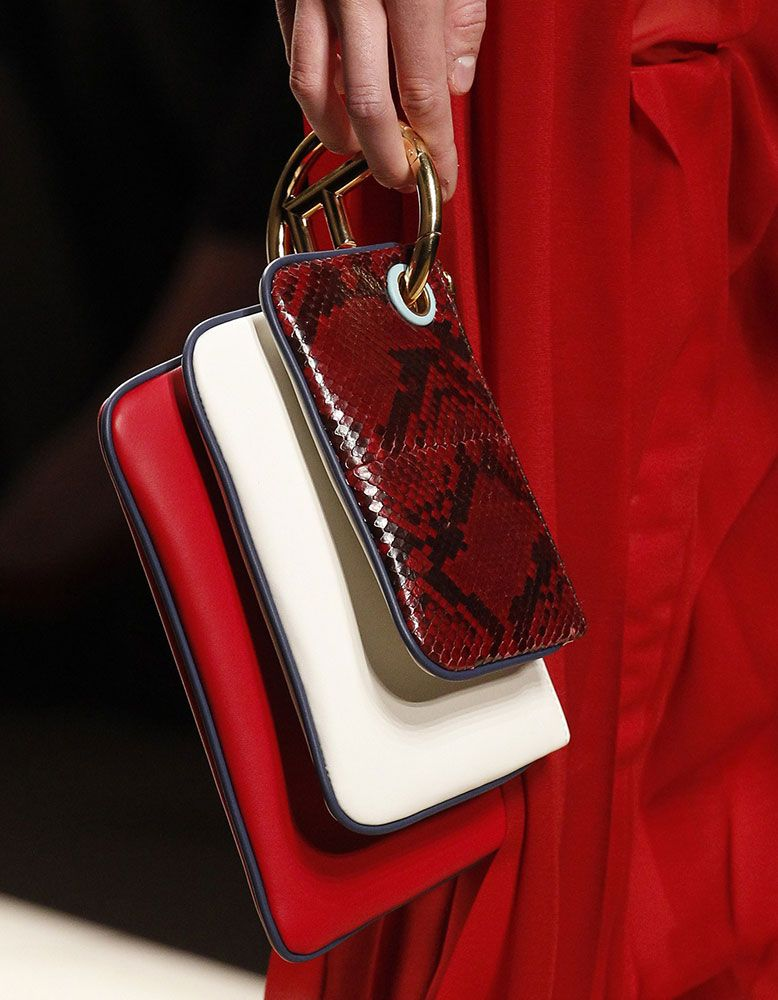 ae6f01cabda Fendi Debuts New Logo Hardware and Tons of New Bags for Fall 2017 -  PurseBlog