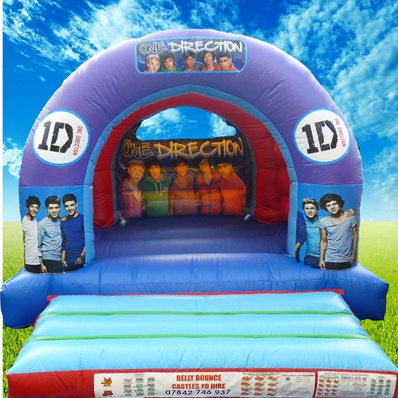 Quatang Gallery- One Direction Bouncy Castle Hire Stoke On Trent Bouncy Castle Hire Bouncy Castle Bounce Castles