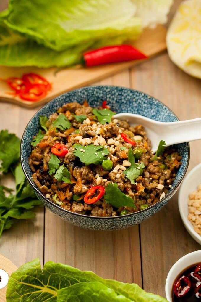Turkey San Choy Bow | Recipe | Healthy turkey mince ...