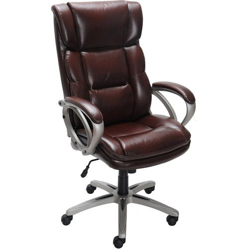 Broyhill Bonded Leather Executive Chair 00656292411194 Broyhill