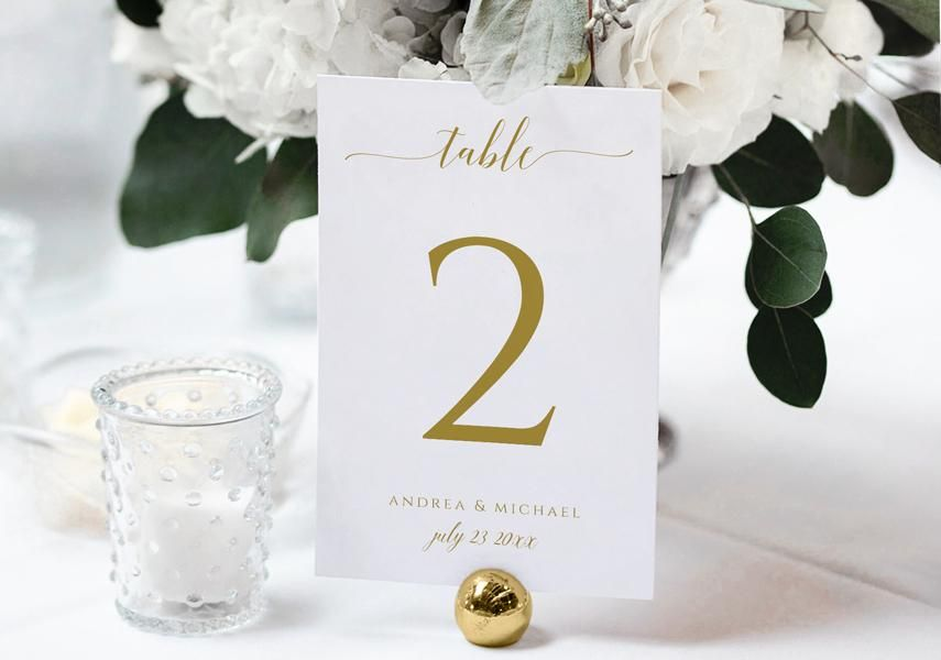 Romantic Calligraphy Table Number Template 4 X 6 Edit Online Download Wedding Table Numbers Wedding Table Numbers Template Calligraphy Table Numbers