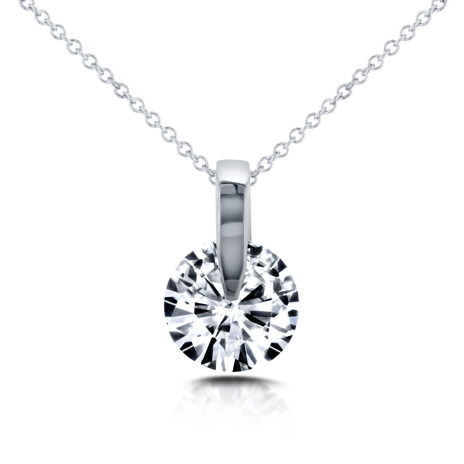 moon silver moissanite gold in kristina luna necklace charms products inspired