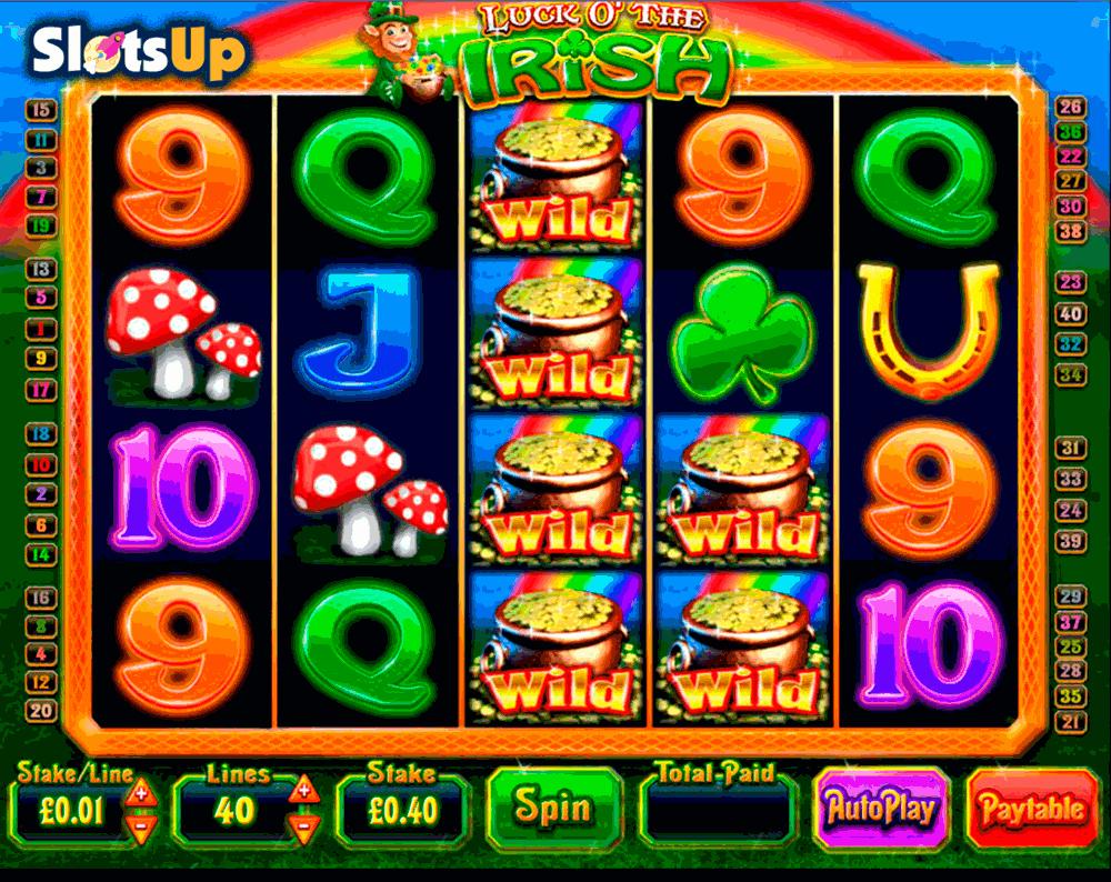 Luck O' The Irish Slot by Blueprint Play FREE at SlotsUp