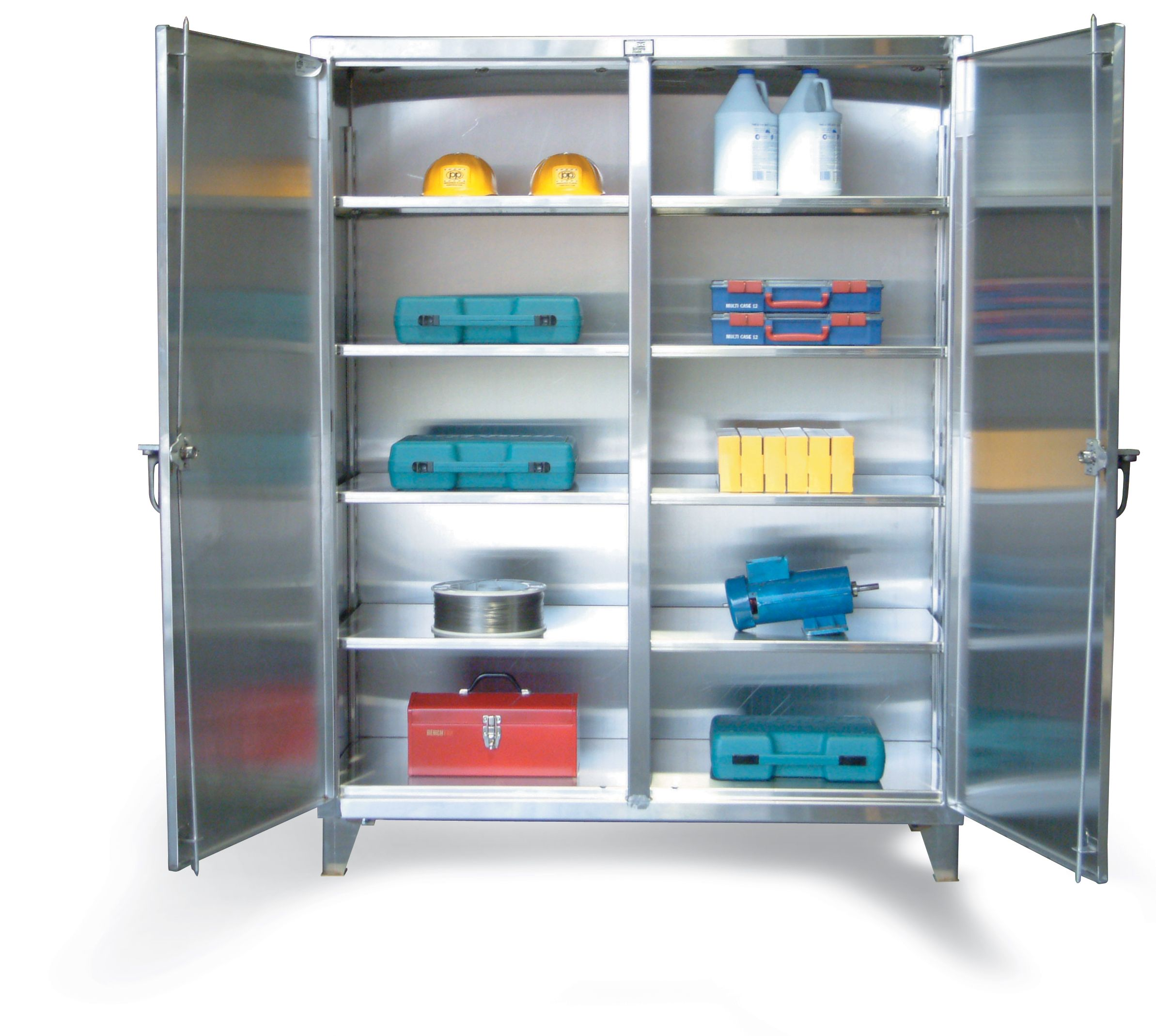 Stainless Steel Double Shift Cabinet Stainless Steel Cabinets Cabinet Locker Storage