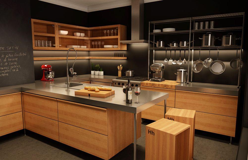 A Hauteur D Homme Kitchen Designers In Montreal Shown Here Julie Design Kitchen Concepts Kitchen Design Kitchen