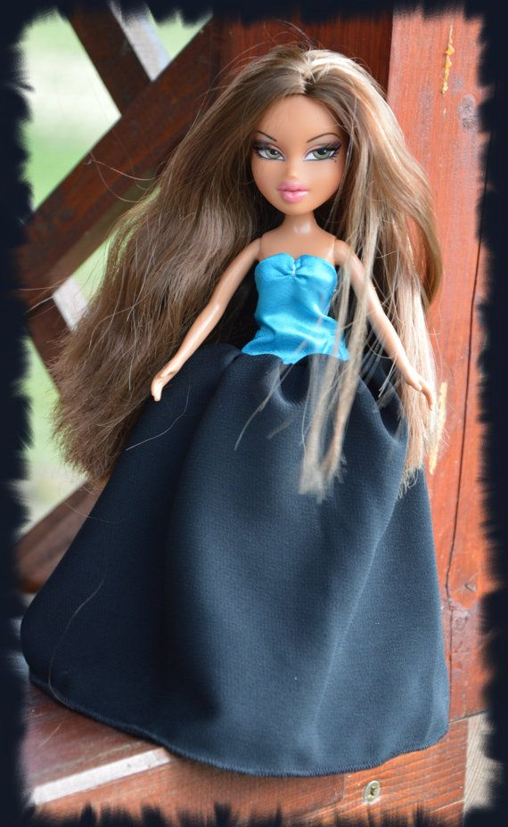 Bratz handmade ball gown by LucieVran on Etsy