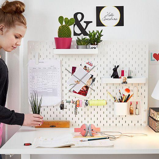 Tutto Quello Che Serve Per Lavorare Studiare Creare Tumblr Zimmer Gestalten Schreibtischideen Bastelraum