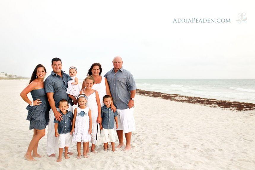 The Carter Family Panama City Beach Photographer Adria Peaden