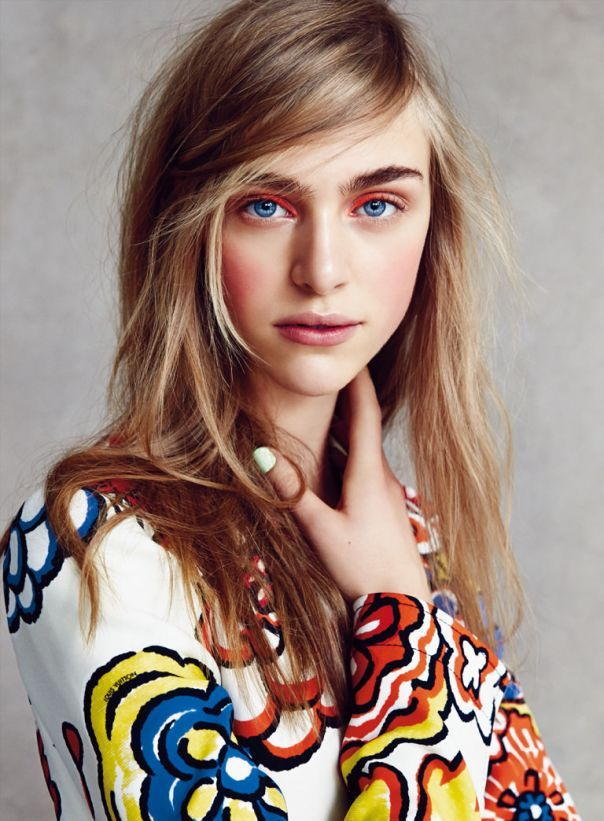 Hedvig Palm and Ester Heesch Star in Allure's January Issue #fashion trendhunter.com