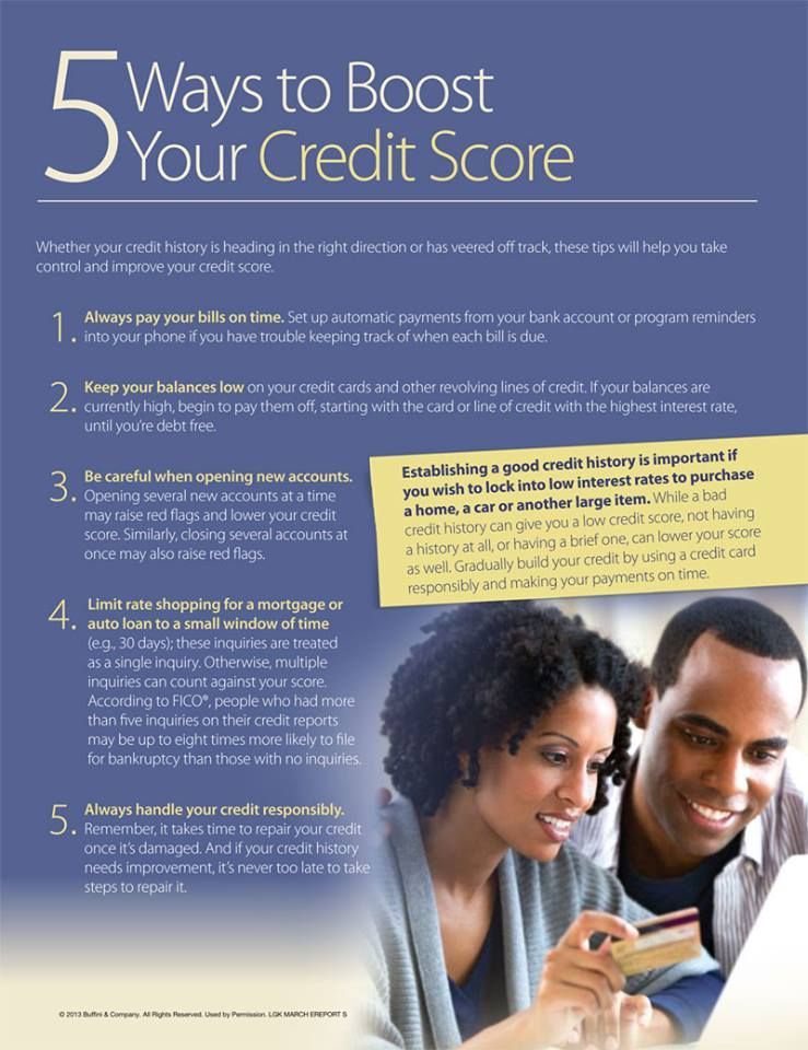 5 ways to improve your credit score HomeFirst Mortgage