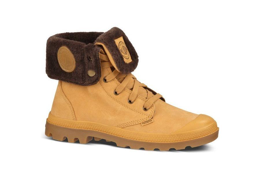 save off 50dab 1fb86 Trendy Palladium Baggy Leather S (Geel) Sneakers van het merk Palladium  voor Heren.