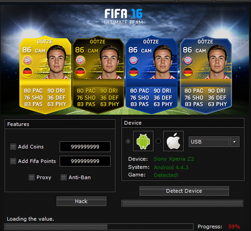 fifa 15 ultimate team android hack coins