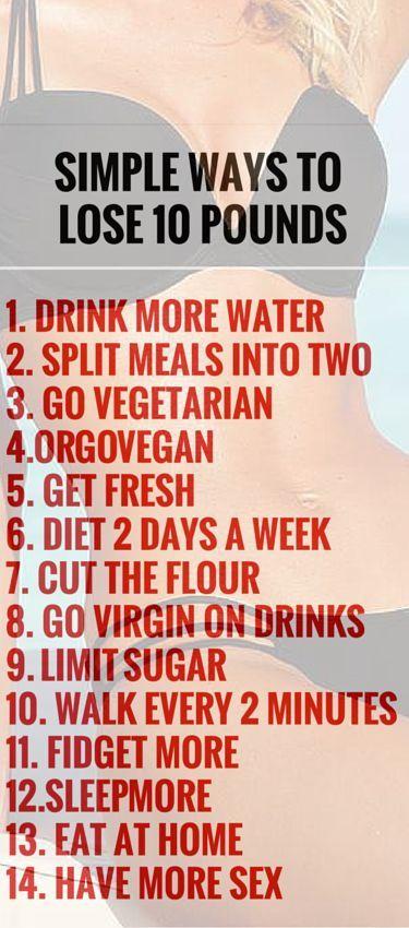 diet methods to lose weight