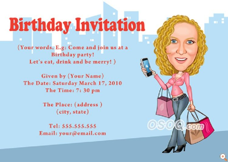 Happy Birthday Invitation Card With Name Beautiful