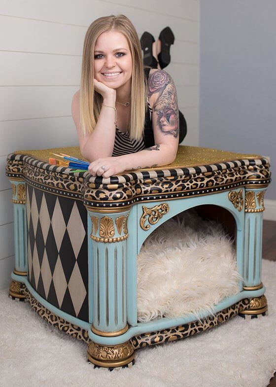 Brittany Pistole | Funky Furniture Facelifts