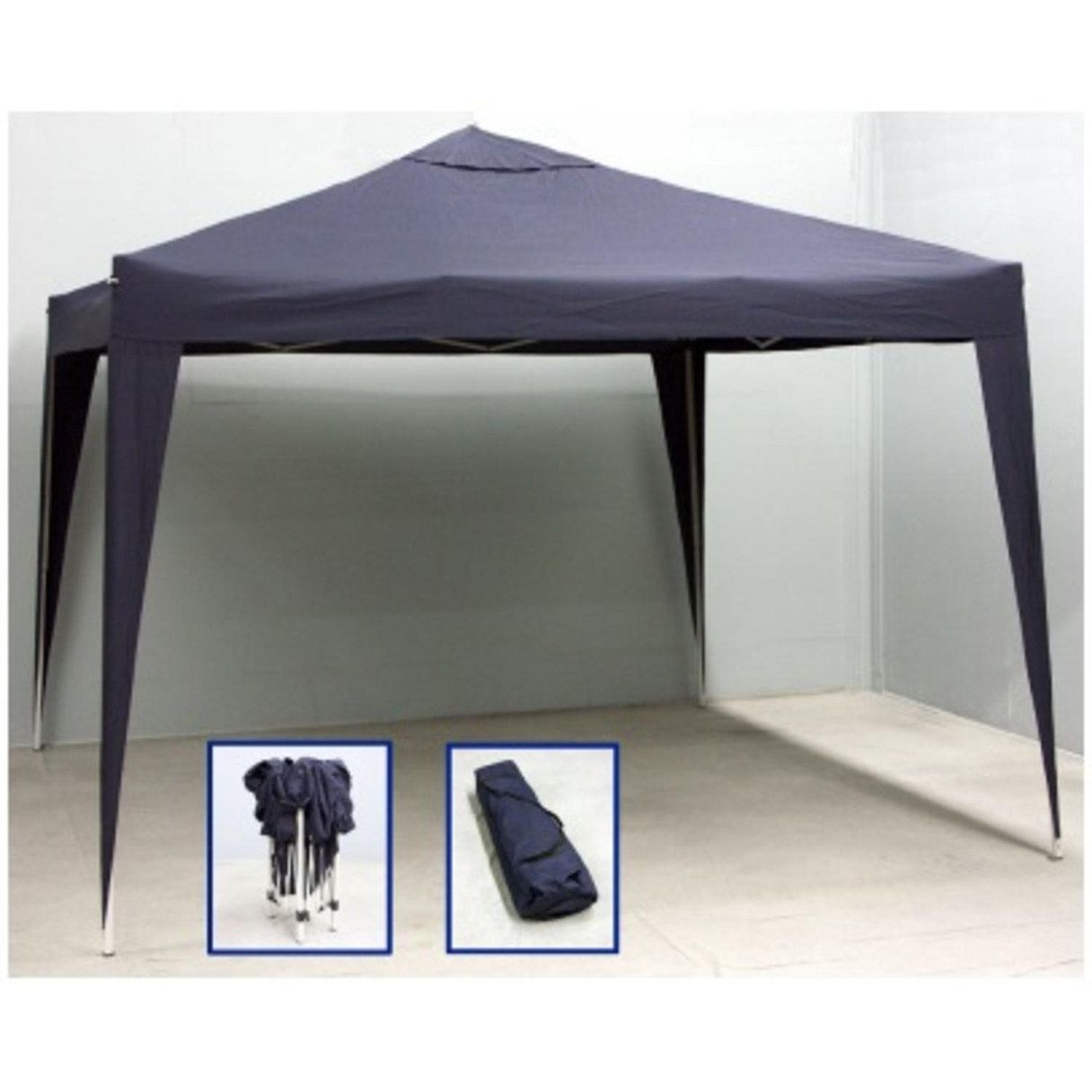 10u0027 x 10u0027 Navy Blue Outdoor Garden Party Stadium Folding Canopy Gazebo (Steel  sc 1 st  Pinterest & 10u0027 x 10u0027 Navy Blue Outdoor Garden Party Stadium Folding Canopy ...