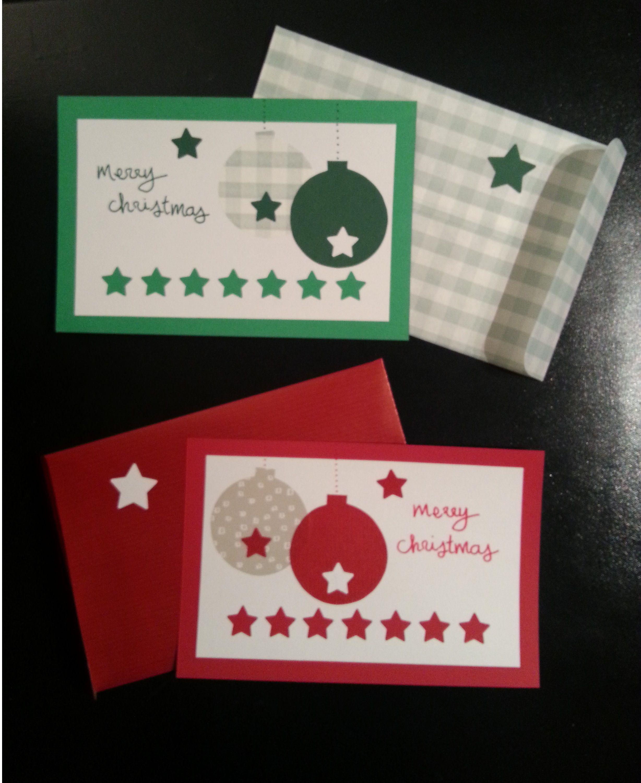 Handmade Christmas card.. if you like it, visit my Dawanda shop :)