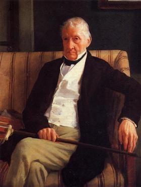 Portrait of Rene-Hillaire De Gas - Edgar Degas