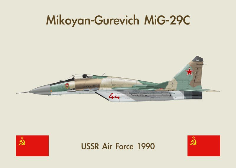 Fridge Magnet MiG-29 2 by WS-Clave