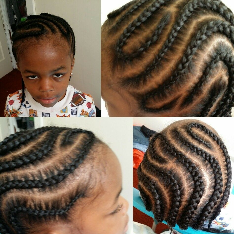 Pin By Brandi Weaver On Hair With Images Braids For Boys Boy