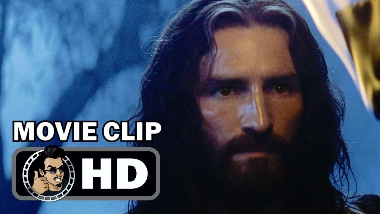 THE PASSION OF THE CHRIST Movie Clip Judas Betrays Jesus