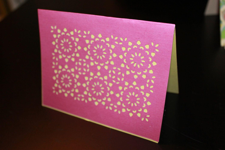 Blank Decorative Greeting Card 395 Via Etsy Greeting Cards
