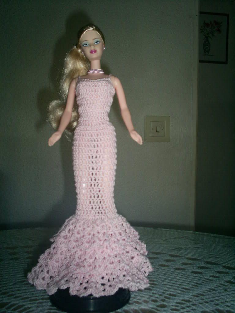 barbie+crochet+ball+gown+patterns+free | crochet barbie photo ...