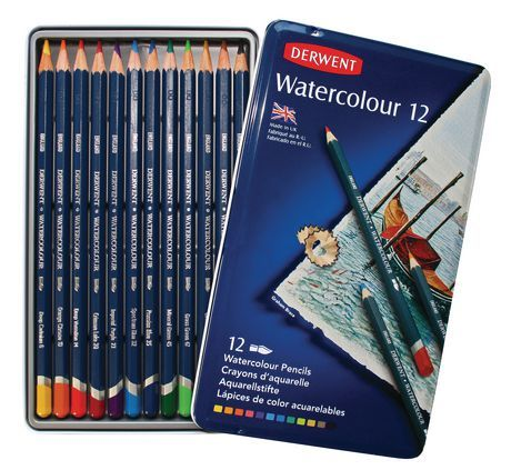 Derwent Watercolour Pencils Watercolor Pencils Art Pencil Set