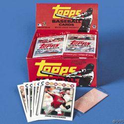 Gum Inside Packs Of Baseball Cards Topps Oldies But