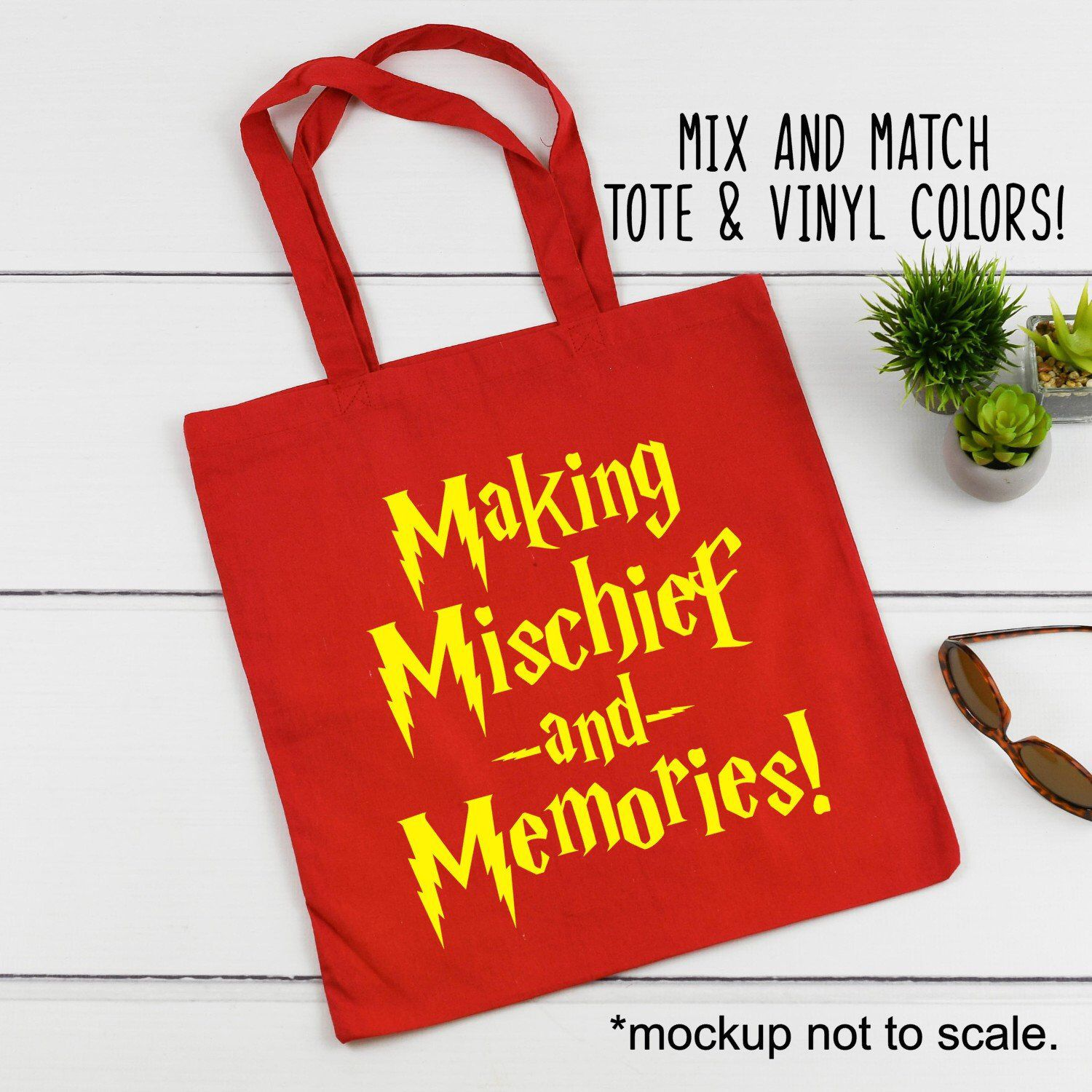 Harry Potter Inspired Family Vacation Canvas Tote Bag