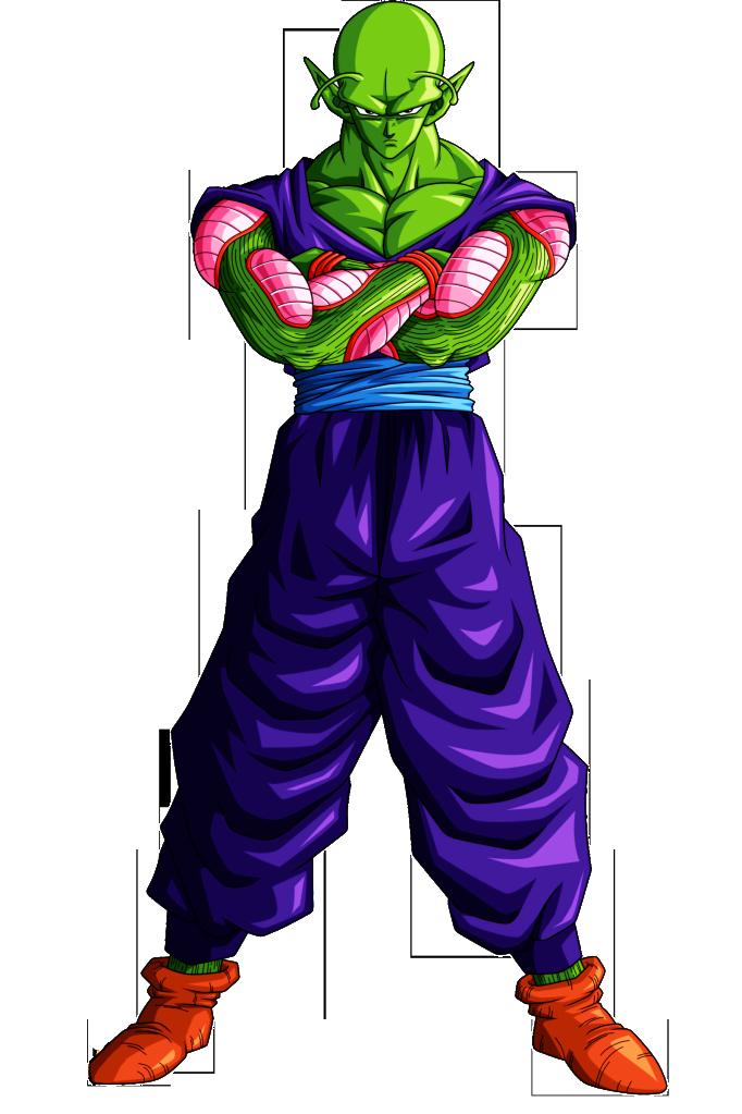 Piccolo Saga Saiyajin Dragon Ball Dragon Ball Z Personajes De Dragon Ball