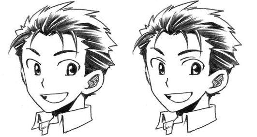 anime ojos hombre: Parpados-manga-anime.jpg (531×283)