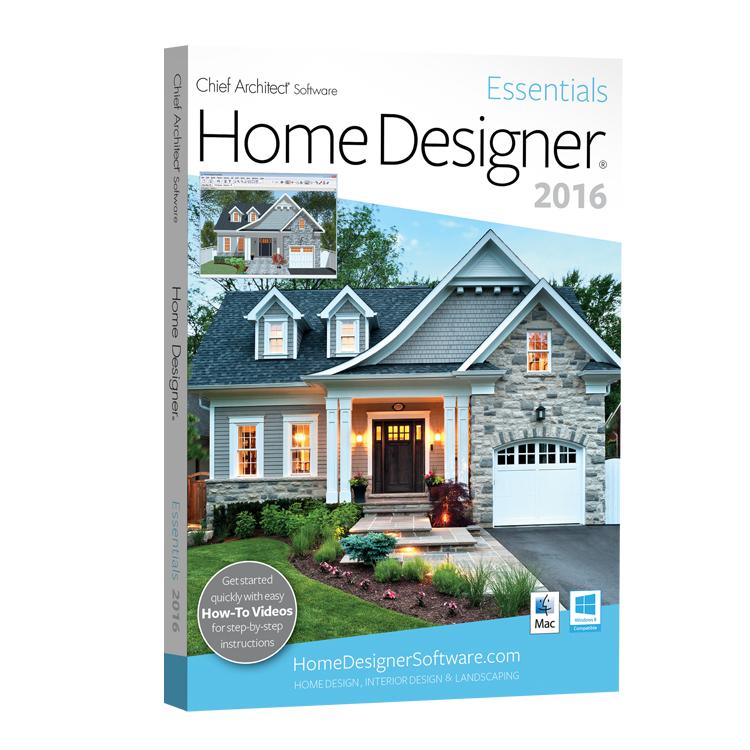 Chief Architect Home Designer Essentials 2016 Software Download