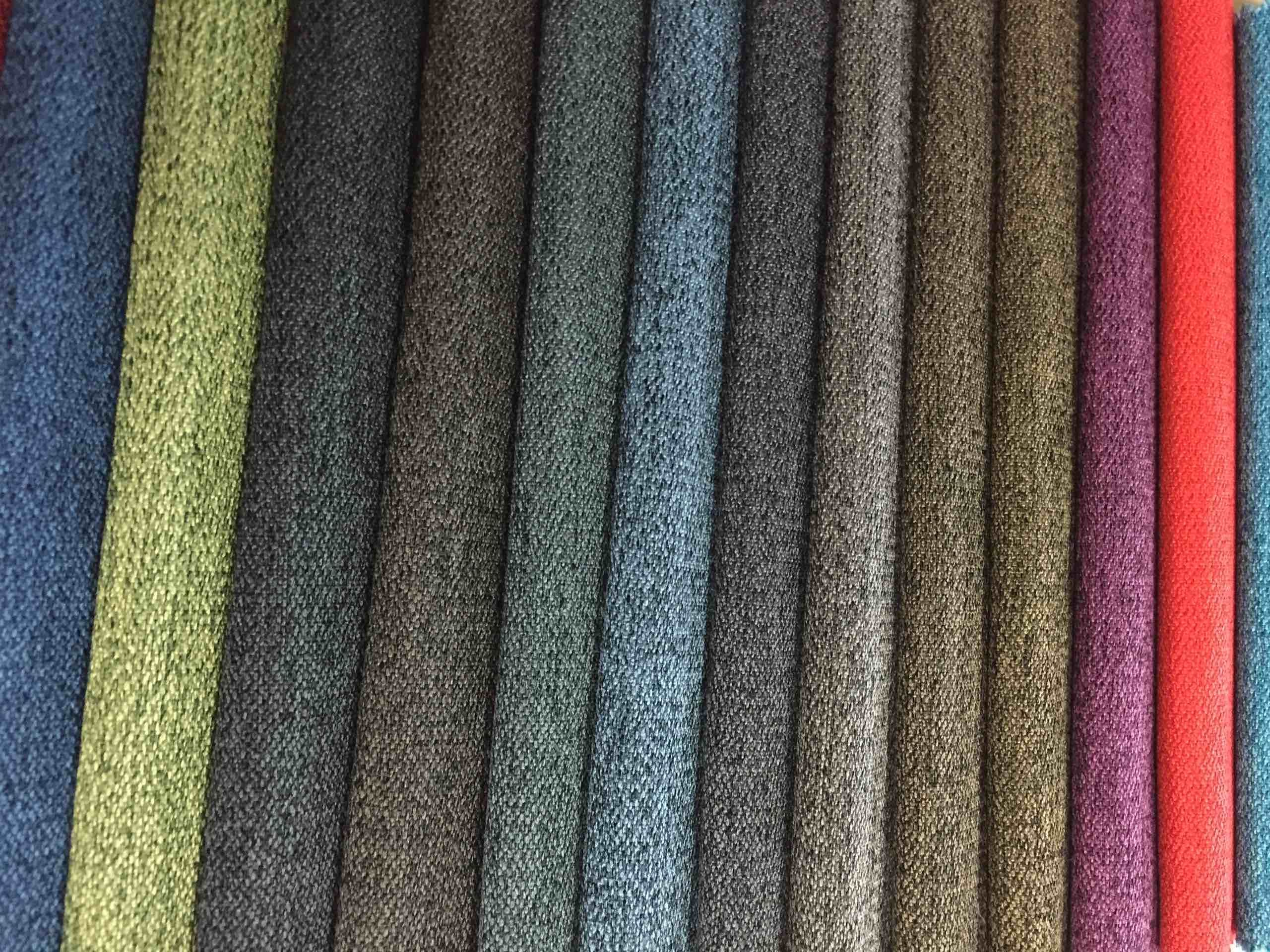 Plain Linen Upholstery Fabric A Variety Of Colors Available Can Also Customize Your Colors Decoracao