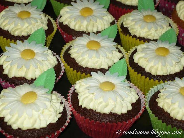 Rýchle a jednoduché cupcakes, keď nemám čas na veľké vypekanie, tak u nás letia takéto rýchlovky...