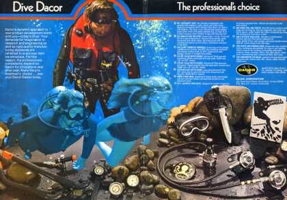 Dacor Dive Ad Dive History Diving Underwater Diving Gear
