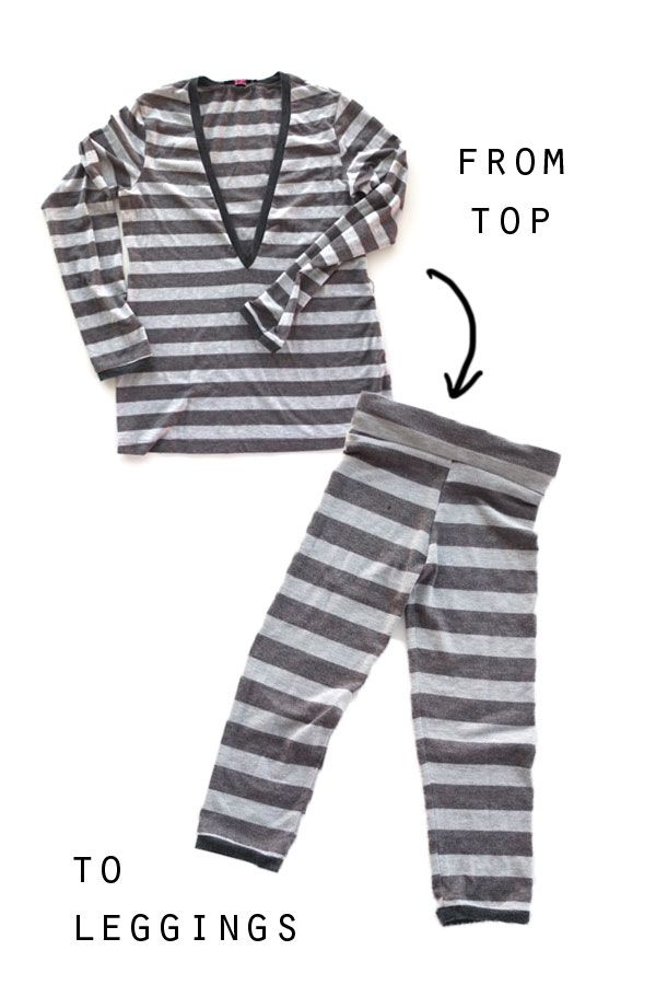 920be752af86f The Thrifty Kid – Trapeze Leggings (or How to make Kids Leggings from an Old  Top)