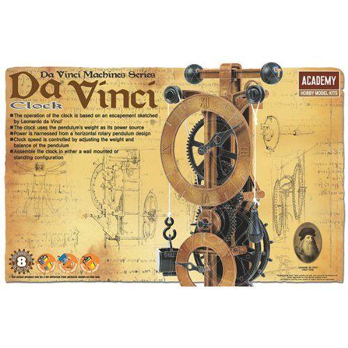 Amazon.com: Academy da Vinci Clock: Toys & Games