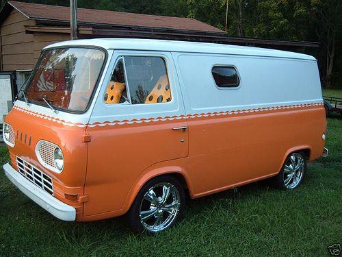 1963 Ford Econoline Van Chevy Van Vans Custom Vans