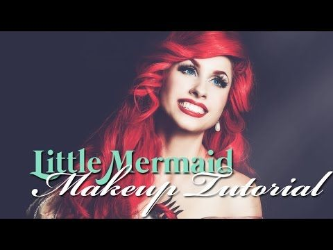 halloween // disney's little mermaid  ariel makeup